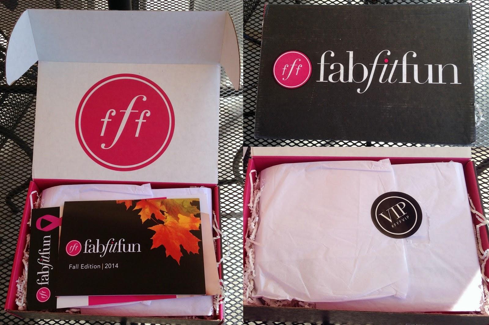 FitFabFun VIP Fall Box Review + $10 off Coupon Code!