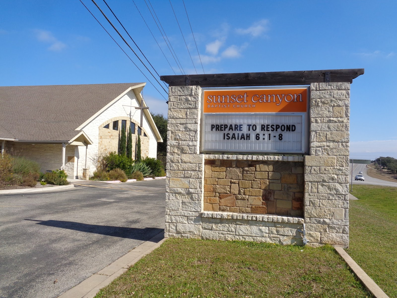 Sunset Canyon Church Dripping Springs