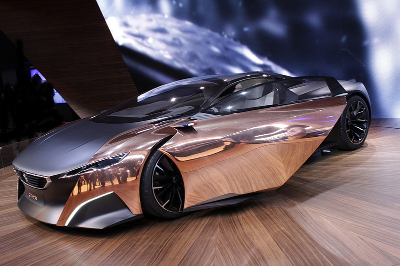 If It's Hip, It's Here (Archives): Peugeot's Onyx Concept Supercar ...