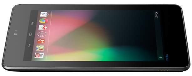 Google Nexus 7 Available on Play Store