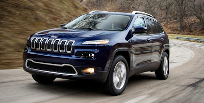 2014 Jeep Cherokee navy