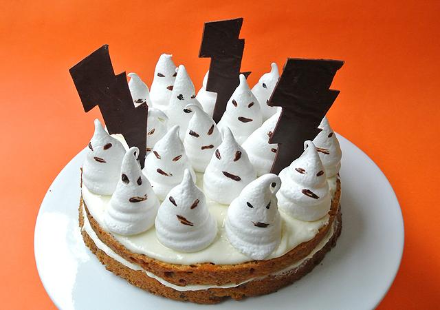 Fantômes dessert halloween