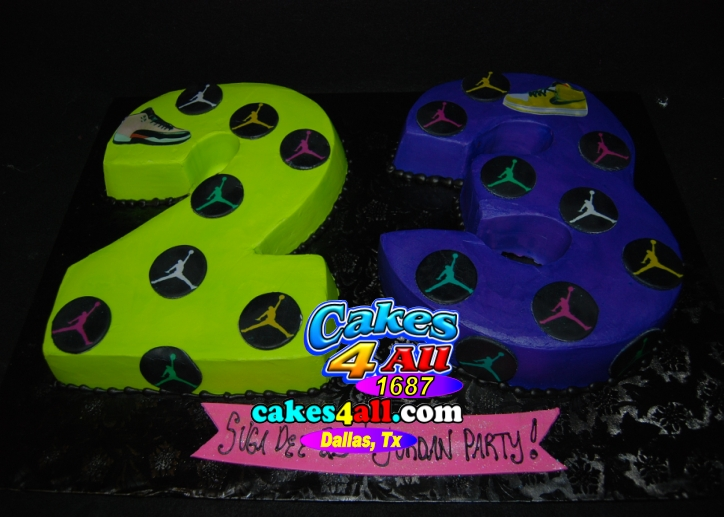 Cakes 4 all in dallas 23rd birthday jordan party cake dallas tx 23rd birthday jordan party cake dallas tx thecheapjerseys Images