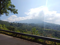 Nice view on the way to Bedugul