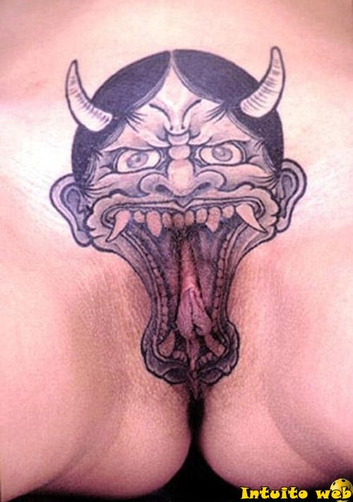 7 Belas Tatuagens na buceta (fotos)
