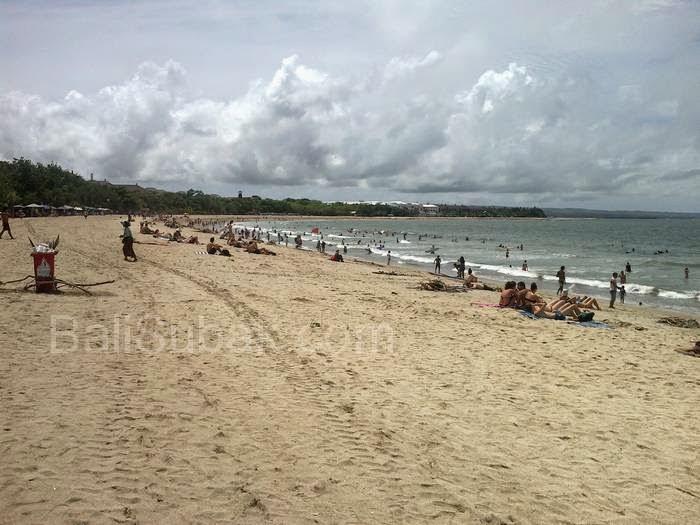 Kuta Beach Attraction in Bali