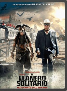 El llanero solitario 1080 El Llanero Solitario (2013) 1080p HD Dual Español Latino   Ingles