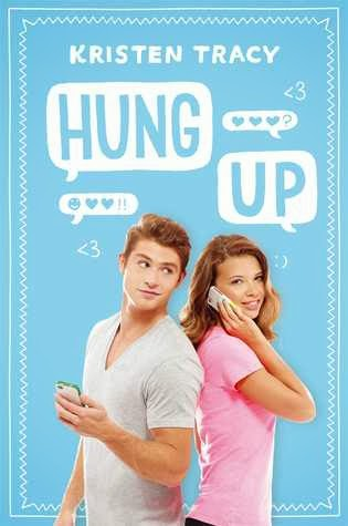 book cover of Hung Up by Kristen Tracy