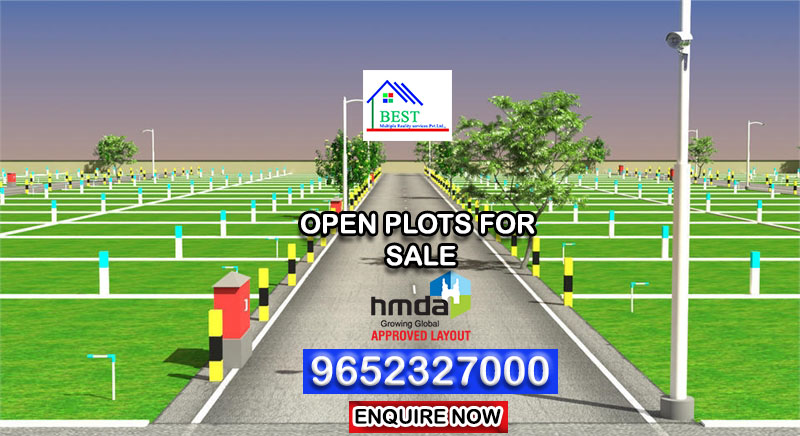 HMDA Plots For Sale Near Shamshabad