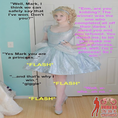 Dare time From boy to sissy TG Caption - Kyra Sissy musings - Crossdressing Tales