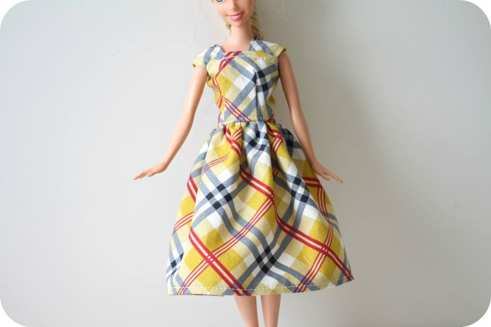 Barbie Dress Tutorial Inspiration Barbie Clothes Patterns