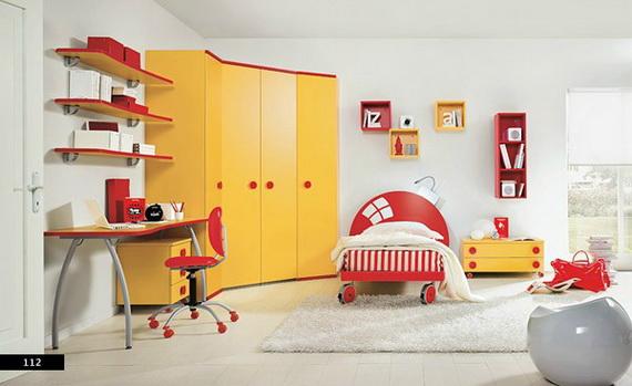 Drles Chambres Colores Pour Les Enfants Dcor De