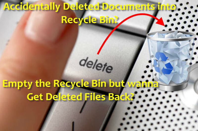 How can I recover a deleted file from my computer
