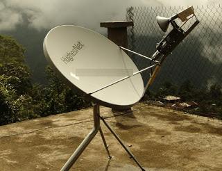 Brasil em breve Tera internet via satélite com franquia de dados