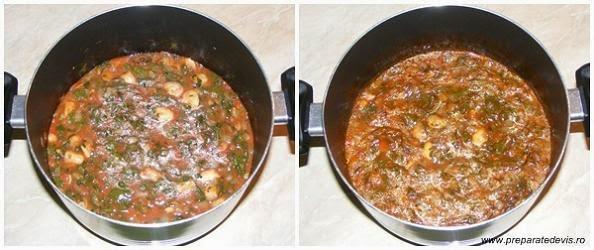 preparare mancare de stevie, preparare tocanita de stevie, retete culinare, retete de mancare, mancaruri de post, preparate culinare, mancare de stevie cu ciuperci, retete cu stevie, retete cu ciuperci, preparate din stevie, preparate din ciuperci,