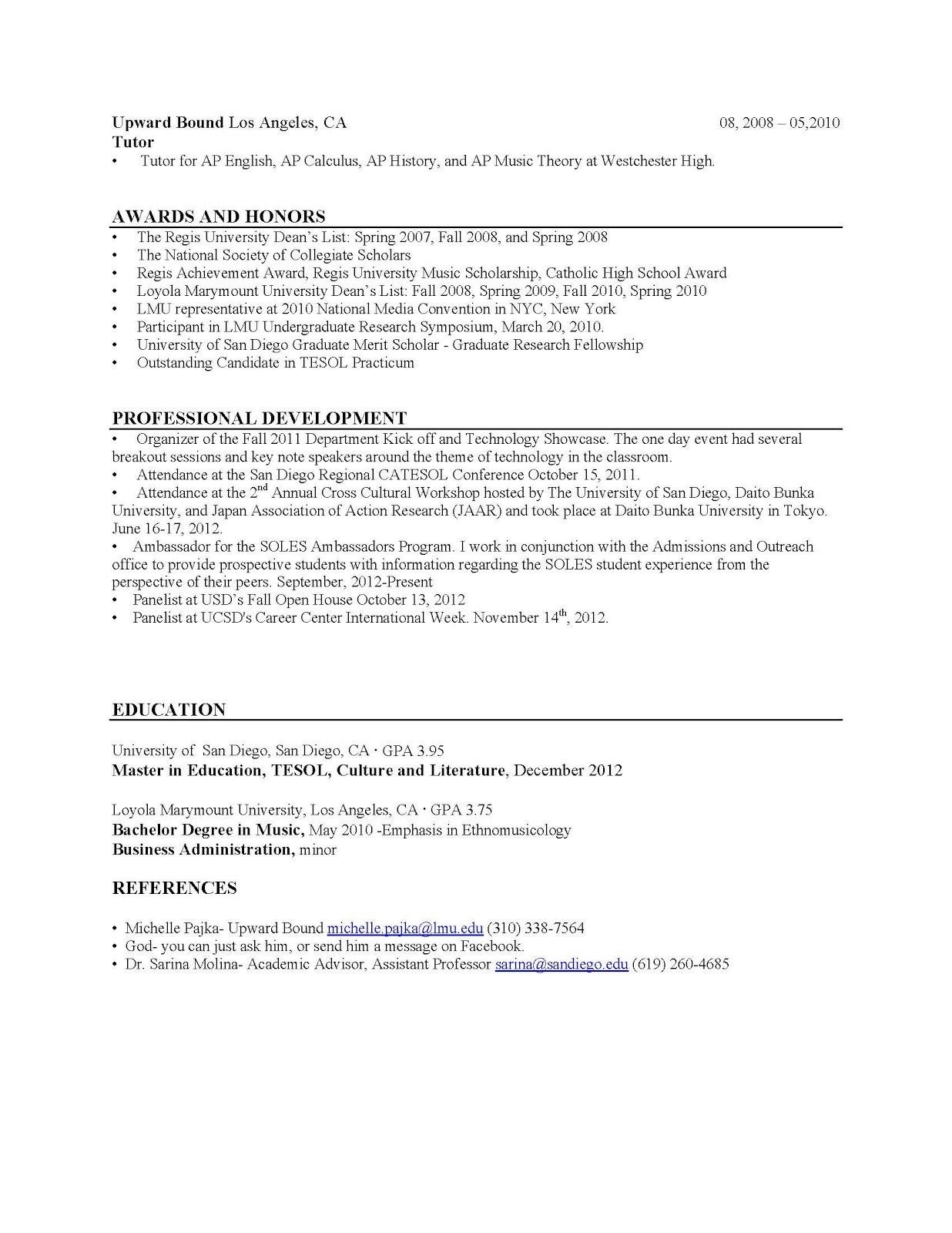 and esol lab workshops resume writing webb