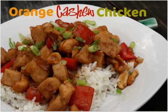 ... Women Game-Changers (in Food): #13 Rachael Ray - Orange-Cashew Chicken