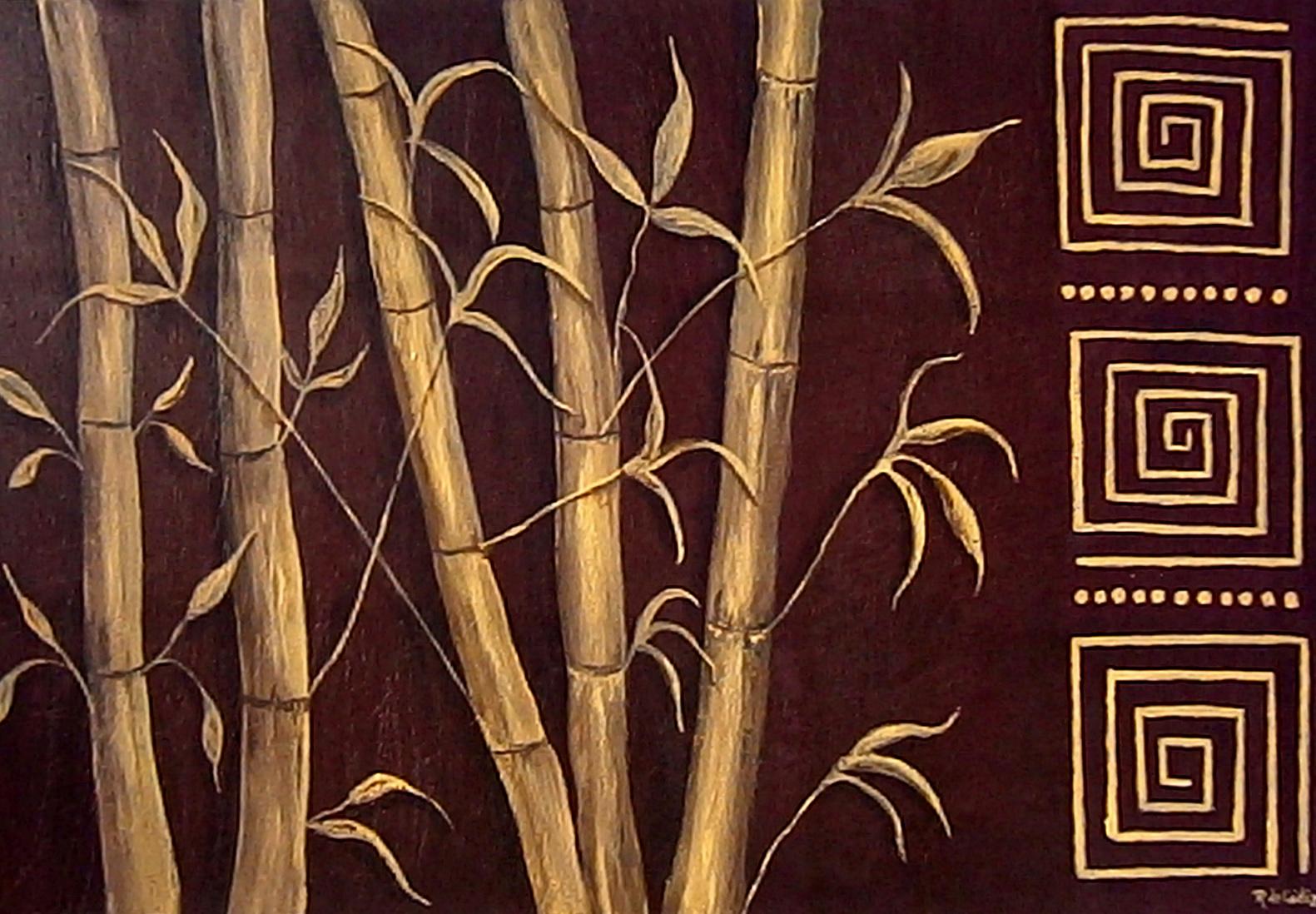 Algo m s que cuadros bamb for Color bambu pintura