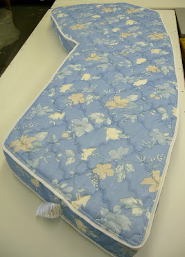 Zippered Boat Mattress Cover