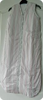 Bubbaroo Joey Swag Sleeping Bag Cherry Stripe