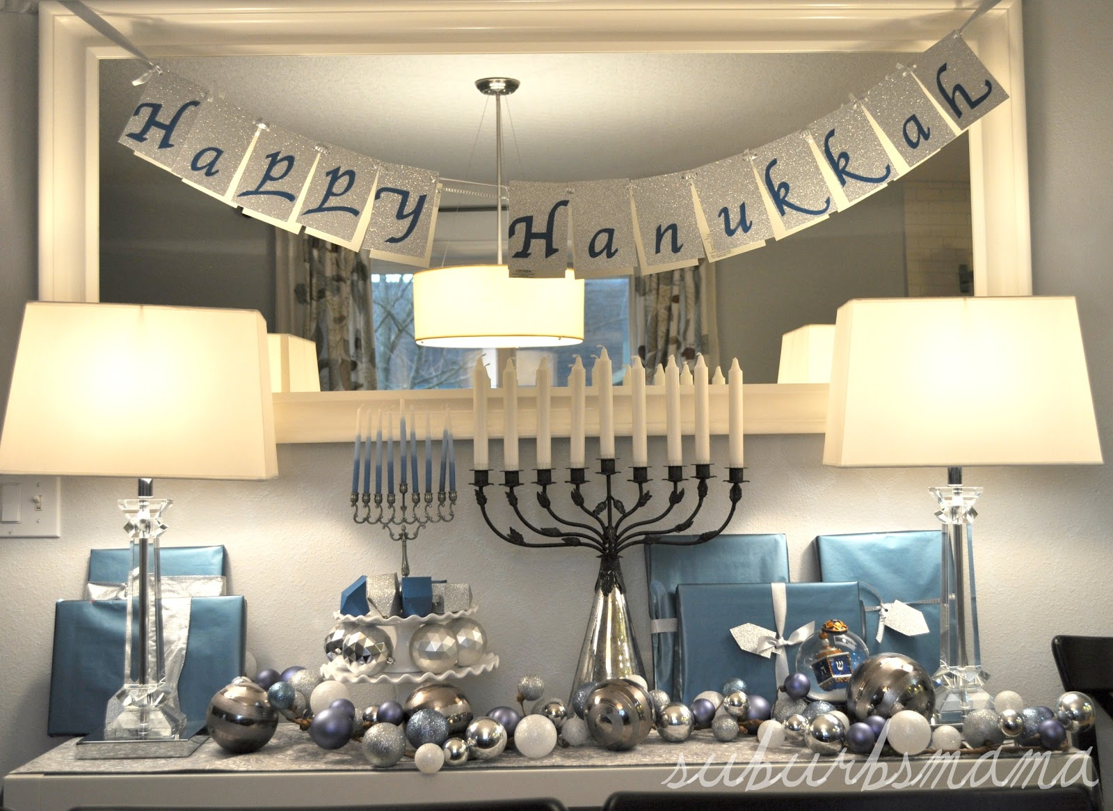 Suburbs Mama Celebrating Hanukkah 2012. Nautical Baby Decor. Luau Decorations. Oriental Style Living Room Furniture. Room For Rent Atlanta. Room Air Conditioner Home Depot. Nursery Room Decals. Rooms To Go Kitchen Sets. Dining Room Tables