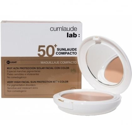 Cumlaude Lab Sunlaude SPF50+ Compacto Light