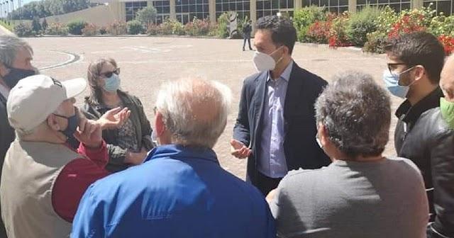 FRANCESCO PITARO (CONSIGLIERE REGIONALE) SULL'INCENDIO NEL CAMPO ROM DI SCORDOVILLO A LAMEZIA TERME