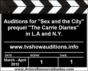 The Carrie Diaries Auditions Extras Casting