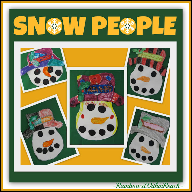 photo of: Snow People via RainbowsWithinReach Winter RoundUP
