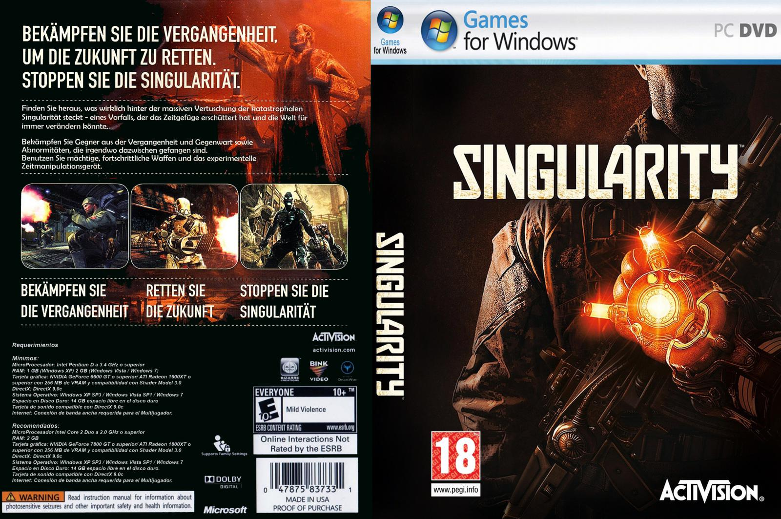 Capa Singularity PC