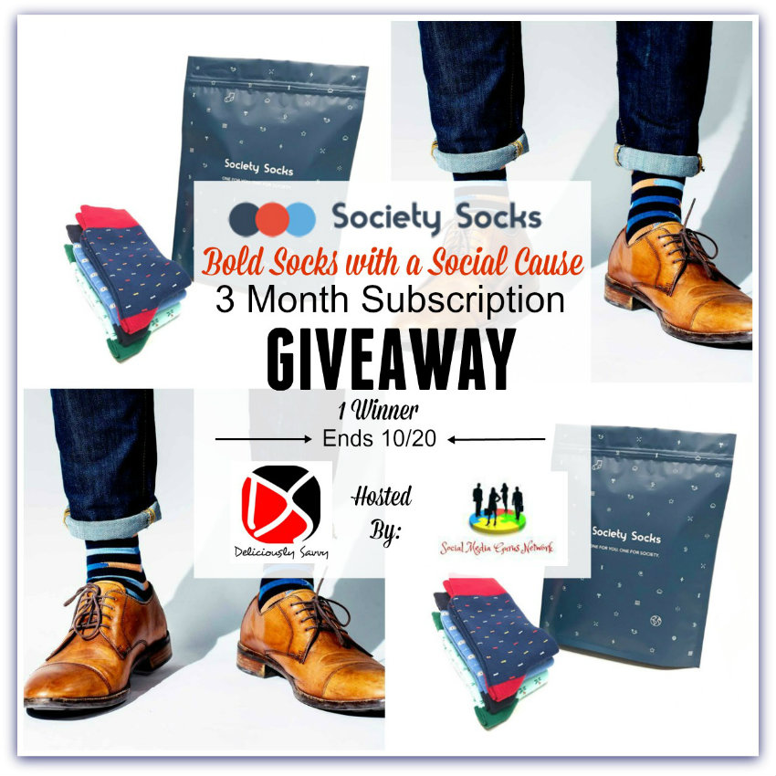 Society Socks Fall Giveaway