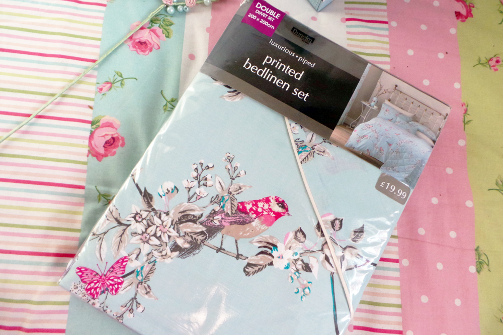 #mydunelmbag, mydunelmbag, my dunelm bag, my dunelm bag blogger, dunelm haul, homeware haul, beautiful birds bedding