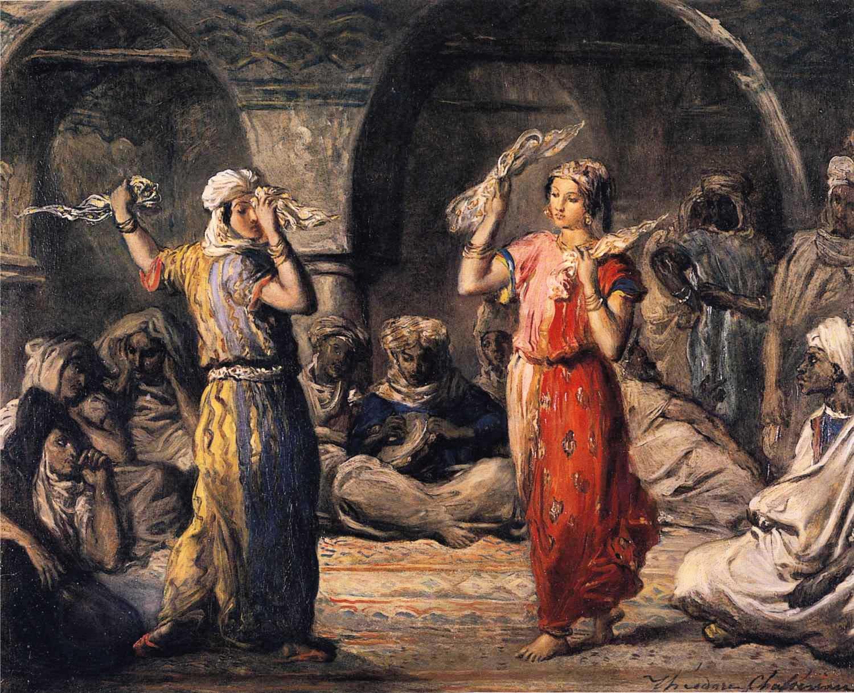 theodore chasseriau moorish dancers