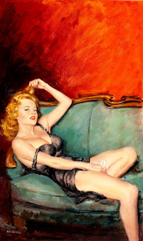 Vintage Pin Up Drawings