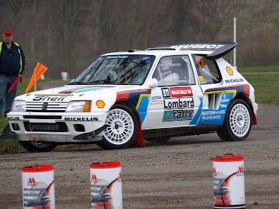 coches de los 80 peugeot 205 turbo 16 rally