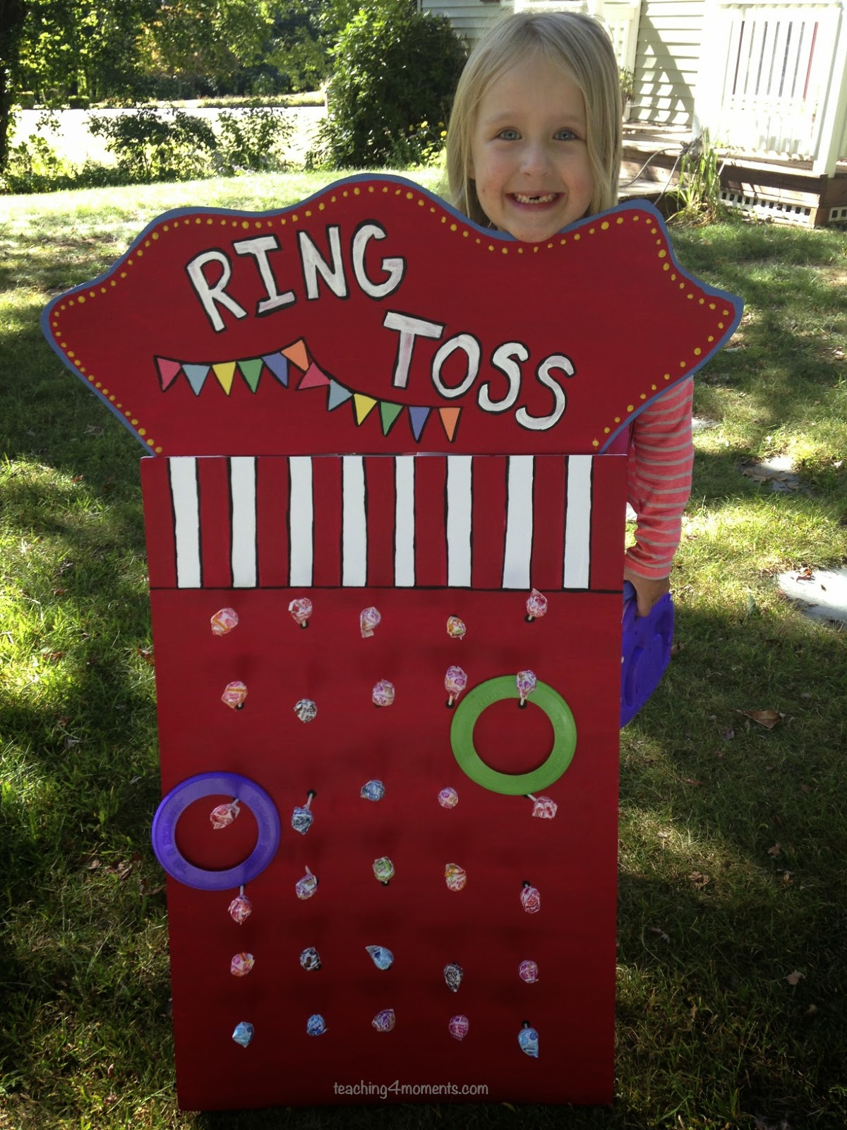 teaching4moments, easy to ring toss game