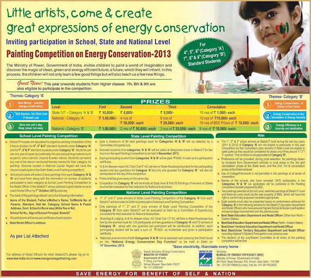 BEE Painting Competition 2013