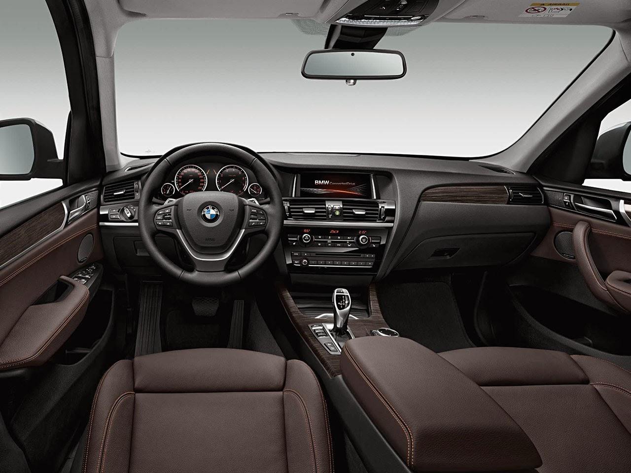 BMW X3 dash