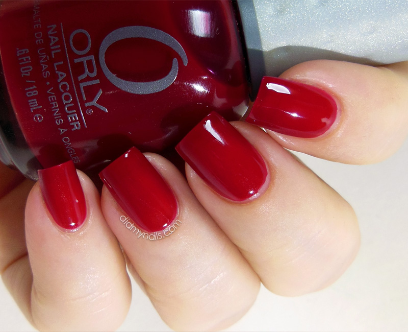 Orly Ignite swatch