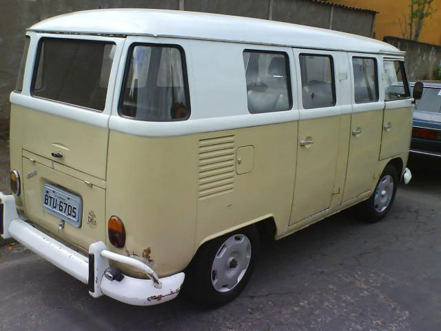 Vw brasilian kombi bus 1971 vw bus for 11 window vw bus
