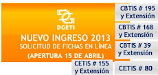 DGETI  Nuevo ingreso 2013