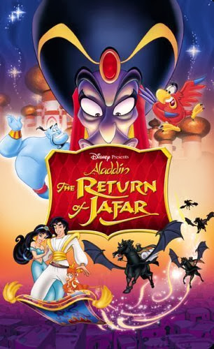 Poster Of Free Download Aladdin: The Return of Jafar 1994 300MB Full Movie Hindi Dubbed 720P Bluray HD HEVC Small Size Pc Movie Only At cintapk.com