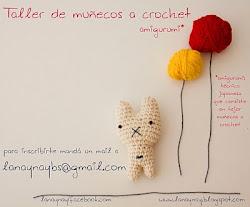 Taller muñecos a crochet!!!!