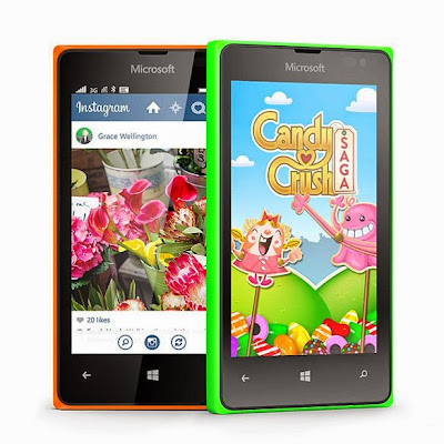 Microsoft Lumia 435, Ponsel Windows 8.1 Harga di Bawah 1 Juta