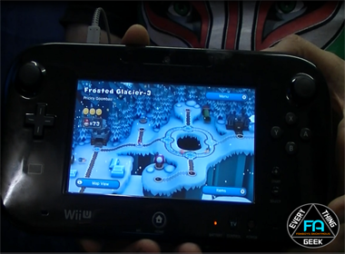 Nintendo Wii U Game pad screen