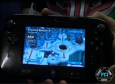 Nintendo Wii U Game pad screen