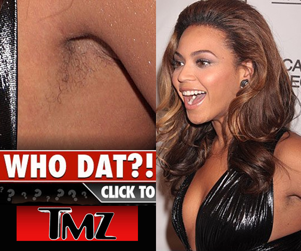 Produção? Alguém pode empresta um barbeador para Beyoncé ?