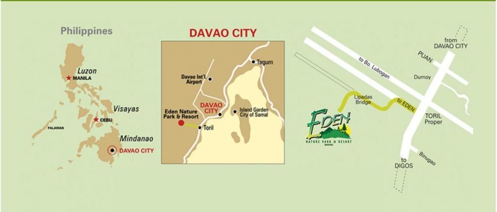Mga Lakwacherang Doktora: The Davao Experience: A Visit at Eden ...