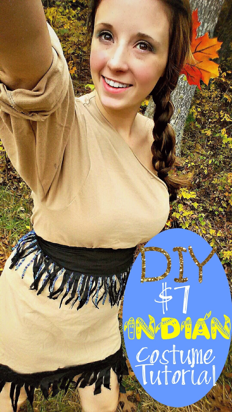 DIY $7 Indian Costume Tutorial  sc 1 st  Diary of a WAHM & Diary of a WAHM: DIY $7 Indian Costume Tutorial