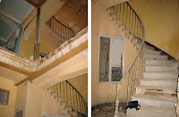 Año 2005. Estado de abandono y avanzada ruina del interior del inmueble de calle Marqués de Guadiaro 3